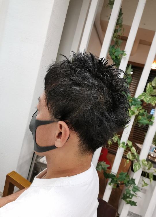 有自然倦男生髮型