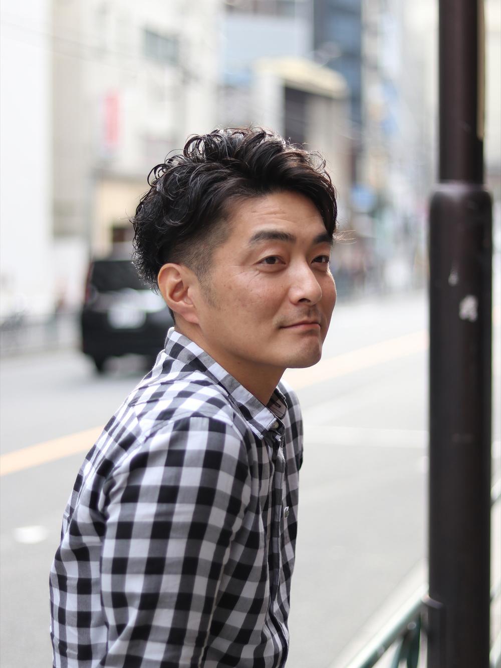 日本男生髮型
